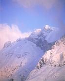 Hochk?nig mountain snow-covered in the Salzburg Alps (Austria),