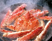 Boiled Alaskan King Crab