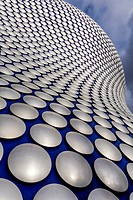 The Exterior of Selfridges Department Store, Birmingham, England.