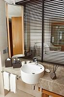 A luxury bathroom.