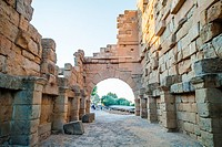 Ancient Tyndaris ruins, Sicily.