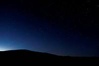British Columbia, Canada, BC Grasslands, night sky, stars