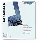 Casabella, No. 760, November 2007, 20th century, Arnoldo Mondadori Editore, Milan, 28 x 31 cm. Whole artwork view. Architecture detail in black and wh...