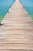 Na Pra Lan Pier on Koh Samui island, Thailand