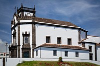 Church of Sao Pedro on the island of Sao Miguel, Azores, Portugal.