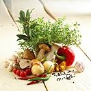 Vegetables for beef goulash