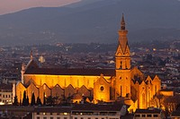 Church in Florence, Tuscany, Italy.