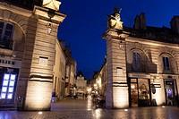 Liberation square, Dijon, Departement Cote-d´Or, Bourgogne, France.