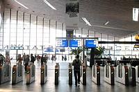 Rotterdam Centraal Station indoor Holland.