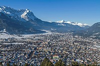 Garmisch in winter