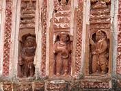 Lalji temple, Kalna, Bardhaman District, West Bengal, India, Asia / Lalji-Tempel, Kalna, Bardhaman Distrikt, Westbengalen, Indien, Asien