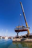 harbour of Rethymnon - crete