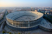 New Mestalla Stadium, Valencia, Spain