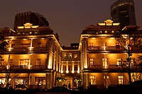 Vacheron Constantin Mansion at night, Luwan District, Shanghai, China, Asia.