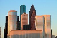 Houston Downtown - Houston, Texas.