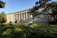 Museum of Fine Arts Houston - Caroline Wiess Law Building, Houston, TX. The South side of the Caroline Wiess Law Building showcases the original 1924 ...