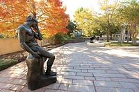 Cullen Sculpture Garden - The Museum of Fine Arts - Houston, TX.