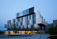 The Terrence Donnely Health Sciences Complex at the U of T Mississauga campus in Mississauga, Ontario, Canada.