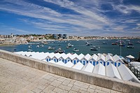 Boats in harbour, Cascais, Portugal