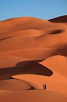 The Sahara in Algeria