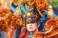 Jember Fashion Festival and Carnival, East Java, Indonesia.