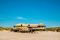 La Grande Plage beach bar, Kampen, Sylt, North Frisia, Schleswig-Holstein, Germany