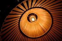 Lamp interior.