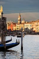 Grand Canal, Venice, Italy.