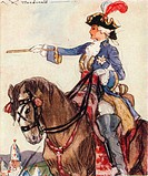 Catherine the Great (1729-1796), Empress of Russia, 1937. Artist: Alexander K MacDonald