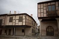 Old houses in Arévalo, Avila province. Spain.