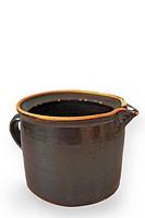 old earthenware jar