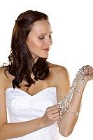 Braut, Hochzeit, Glueck, Gluecklich, Heirat, Heiraten, Brautkleid, Romantik - , SVK, Germany, 12/02/2009