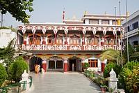 Tibetan Temple And Monastery, Bodhgaya, Bihar, India