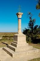 Camargue cross, Saintes-Maries-de-la-mer, France