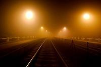 Rails in the fog
