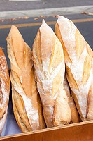 pastry, market in Forcalquier, Provence, France.