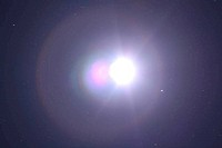 Heavens Flash During Eclipse