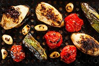 Healthy Organic Roasted Vegetables