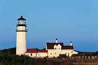 Cape Cod Light, Truro, Cape Cod, Massachusetts, USA.
