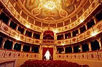 Italia, Emilia Romagna, Busseto, Giuseppe Verdi Theatre . . . .