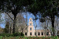 The Small Palace. Quinta de los Molinos is an historical park. Madrid, Spain