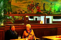 In an old tavern at Antwerp, Belgium