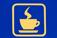 icon hot coffee