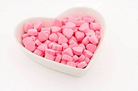 Pink Heart Shape Candy