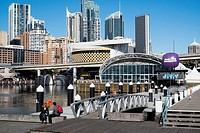 Sydney Darling Harbour and city centre, Australia