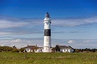Rotes Kliff Lighthouse, Kampen, Sylt, Schleswig-Holstein, Germany