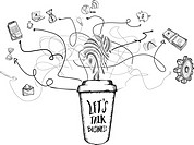 Lets do coffee concept