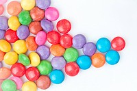 Multicolored candies