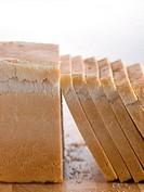 Sliced white loaf