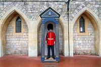 Windsor Castle, Windsor, Berkshire, England, UK.